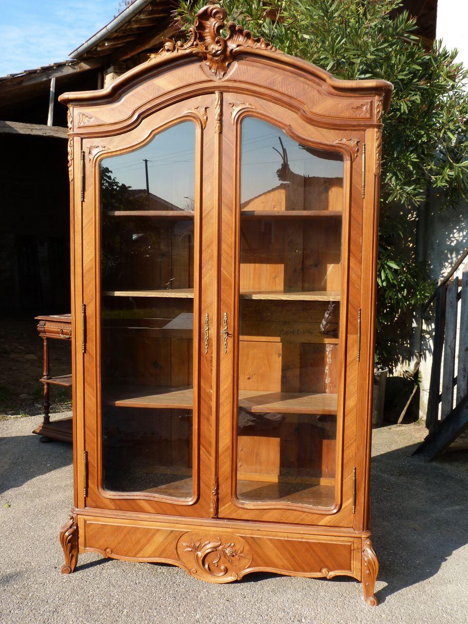 Шкаф рококо (библиотека) - мебель и предметы интерьера москв.